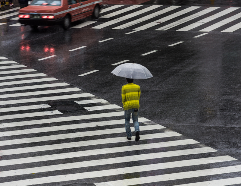 Lonely Shibuya Crossing