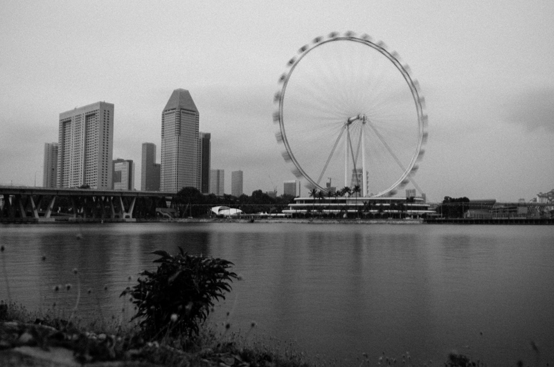 Ferris Wheel Marina Sands
