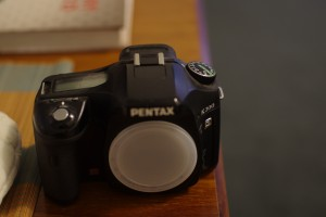 Pentax K200D Body only