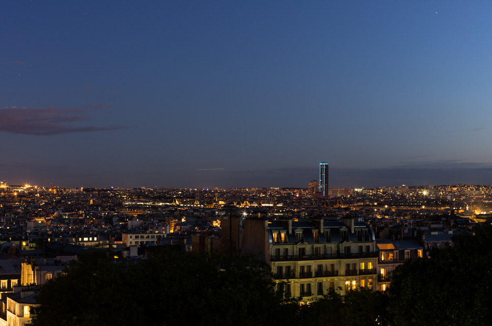 Montparnasse from Montmartre