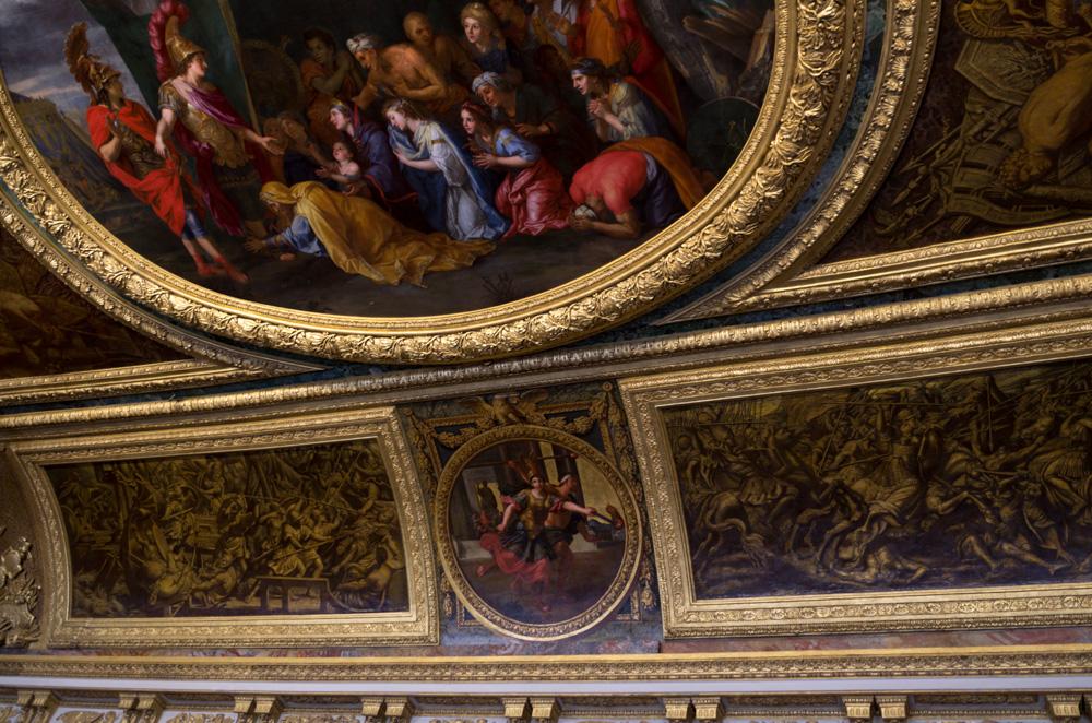 Chateau Versailles ceiling