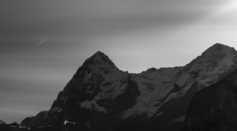 Eiger at night