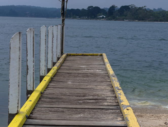 Pier at Metung