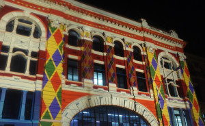 Flinders Street Station - White Night