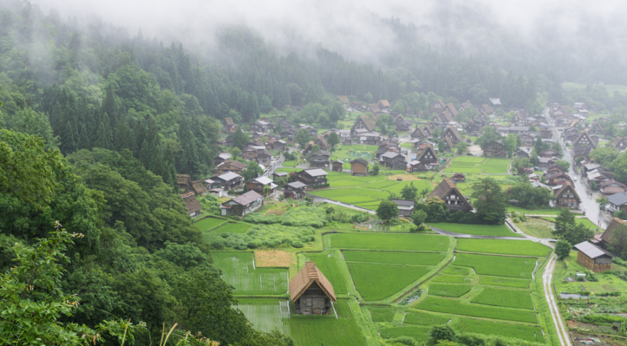 Shirakawa-go lookout