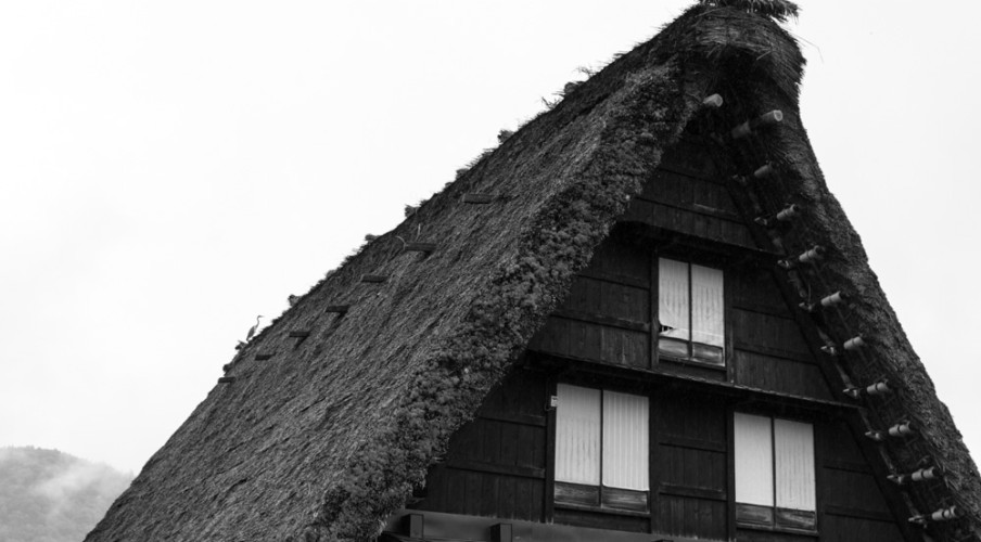 Gassho house in Shirakawa-go