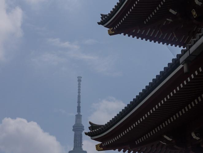 Senso-ji and Tokyo Sky Tree