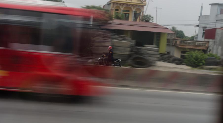 Bus moto merge
