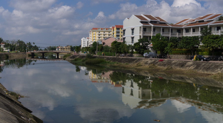 Canal through Hoi An