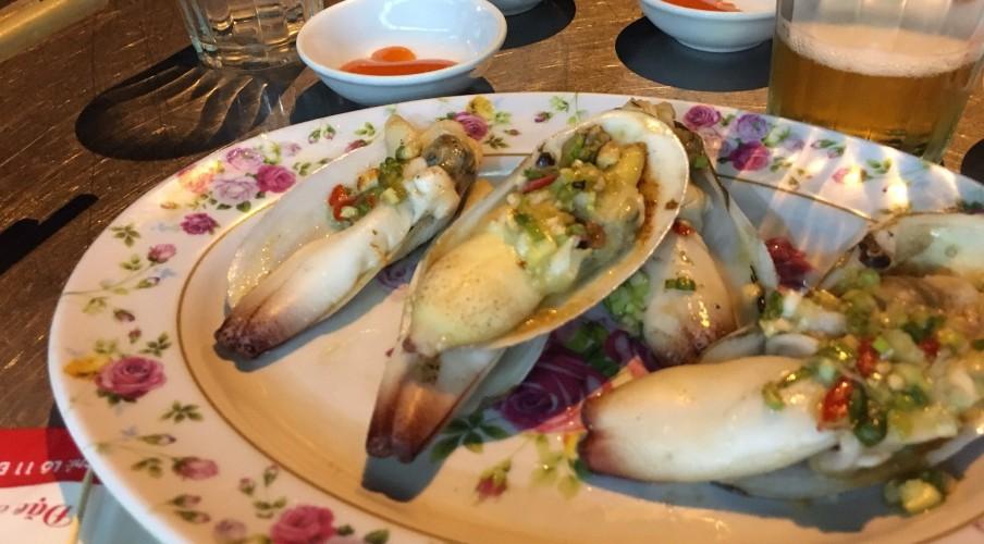 Finger shellfish