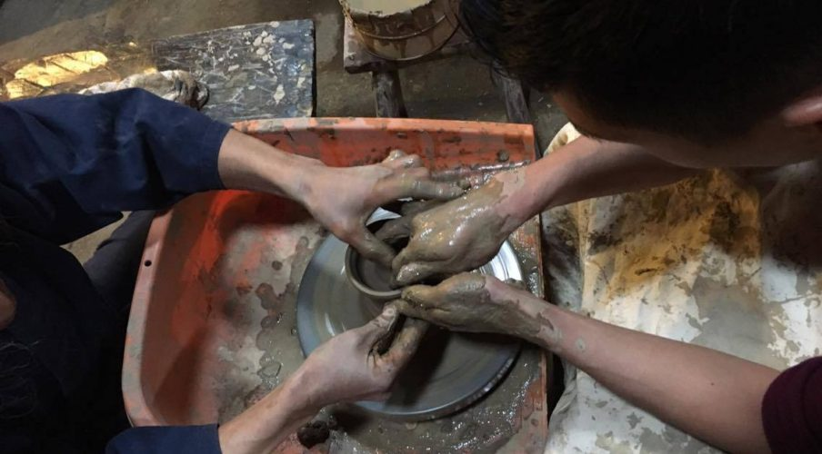 Pottery: Shaping the clay