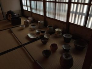 Pottery: Display room