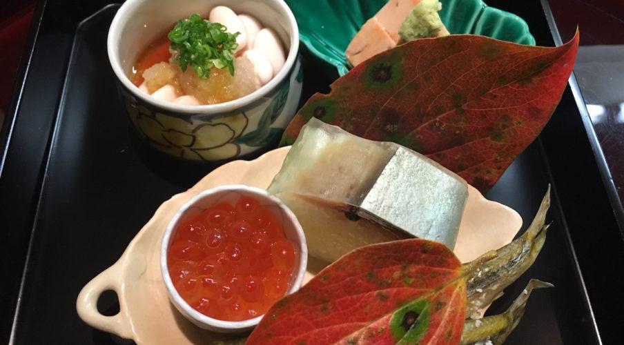Kaiseki: Sushi and other stuff