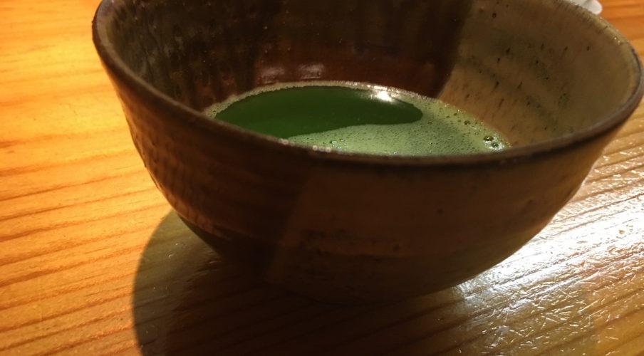 Kaiseki: Matcha tea