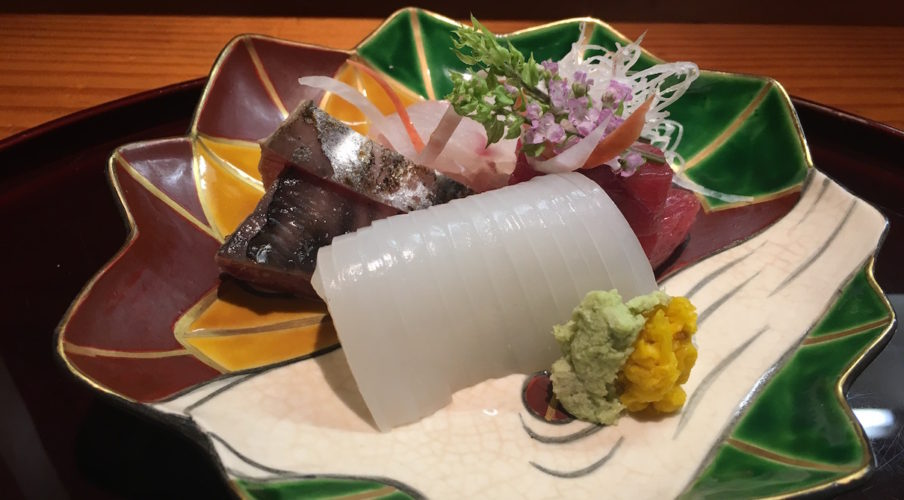 Kaiseki: Sashimi