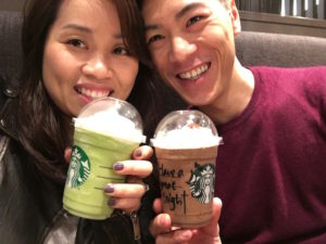 Gion Nanba: Frapuccions at Starbucks!