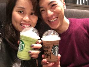 Gion Nanba: Frapuccions at Starbucks!