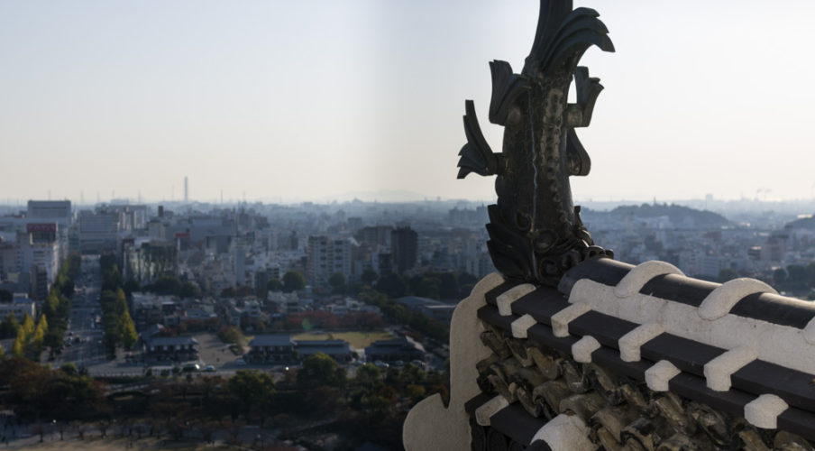 Himeji Castle: View from the top
