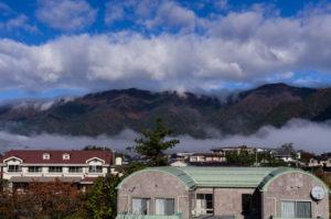 Hills around Kawaguchi-ko