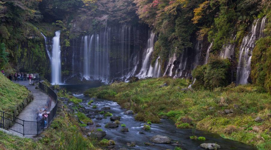 Mount Fuji: Shiraito Falls