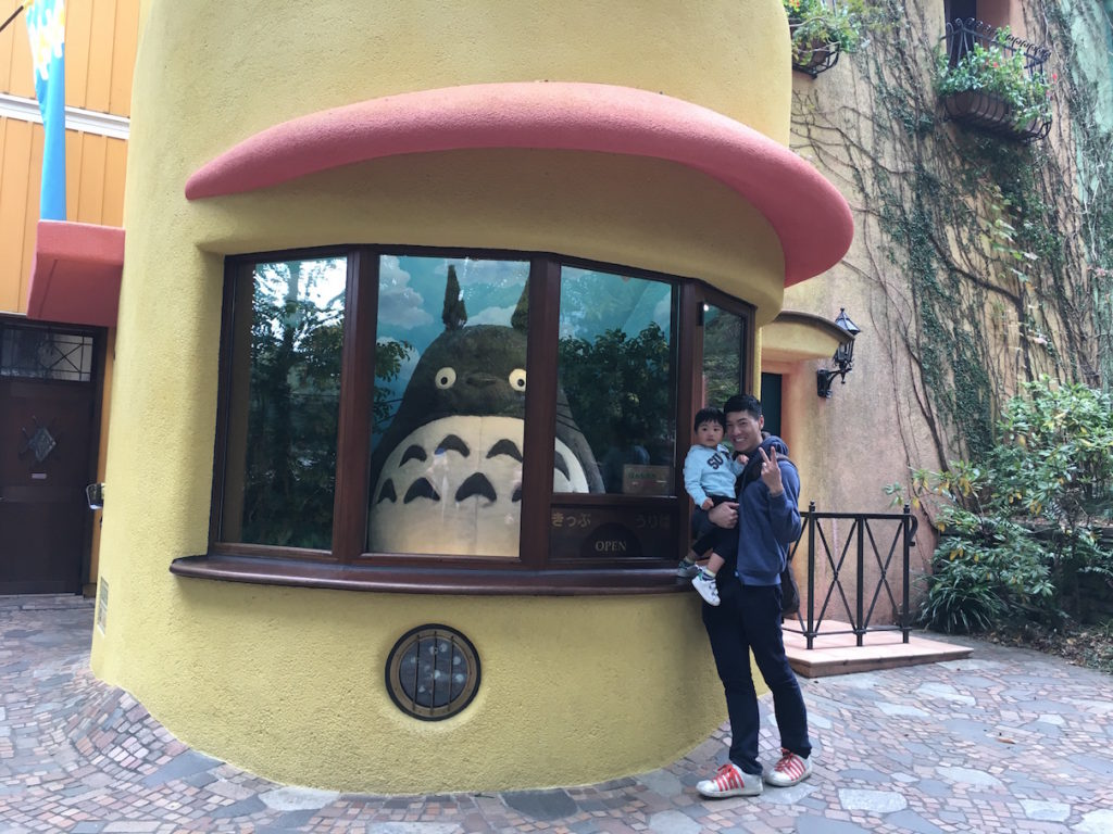Ghibli Museum: Totoro at the ticket counter
