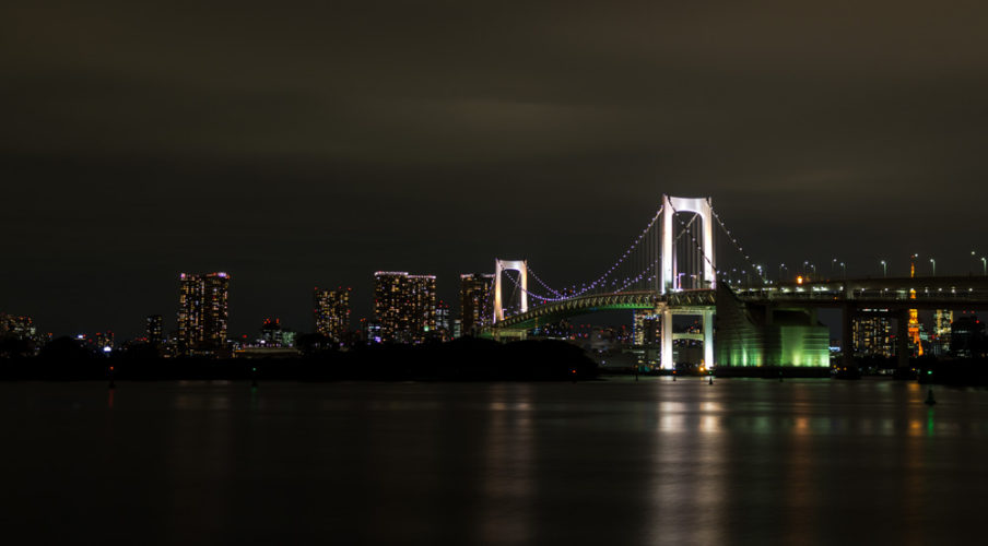 Rainbow Bridge, Odaiba Marine Park