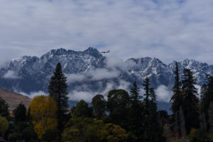 Jetstar arriving into Queenstown