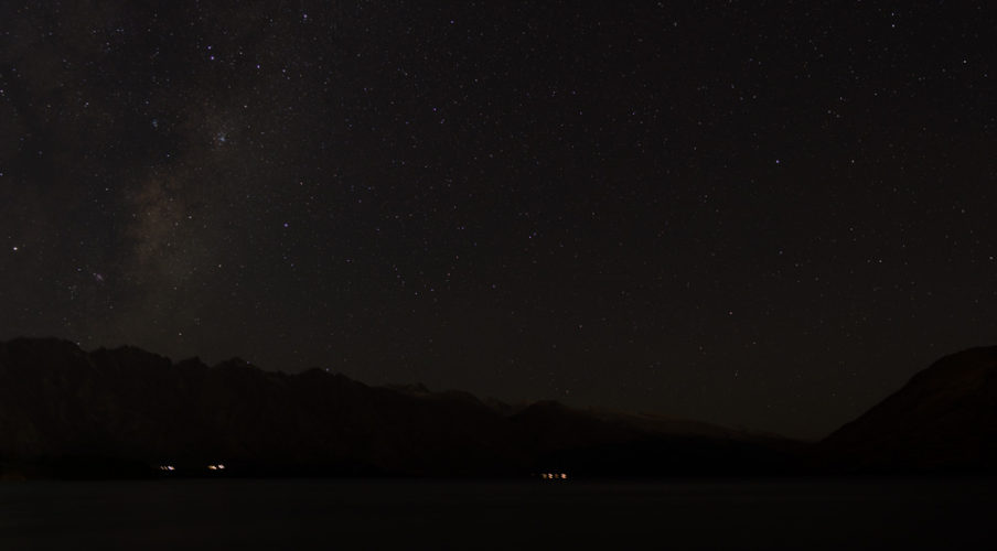 Queenstown 2017: Milky Way over the Remarkables