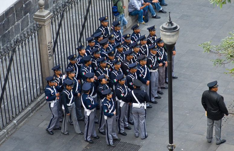 Mexico City: The Police Academy