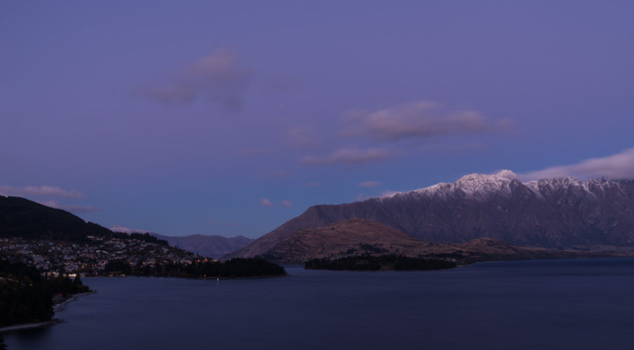 Arrowtown: Another Remarkables sunset