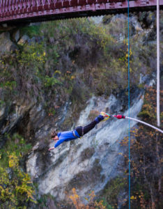 Kawarau Bridge: Best bungy jumper