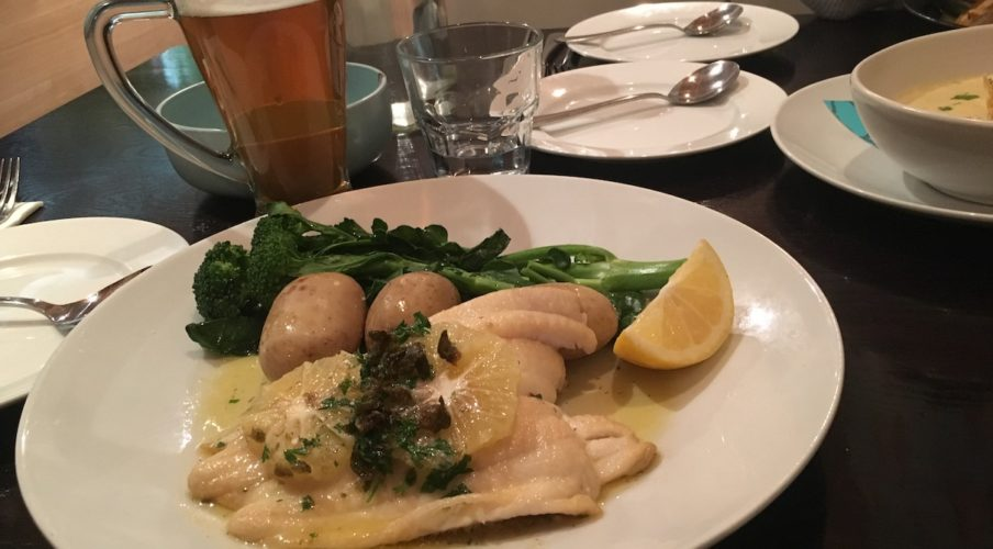 Fishbone: Lemon sole