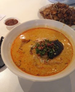 Laksa King: Chicken Curry Laksa