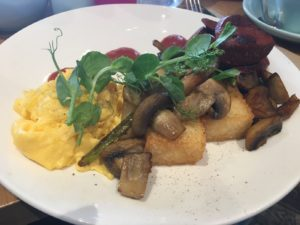 Brunch at Dish and Spoon: Risotto Hash