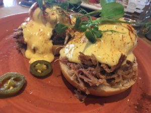 Brunch at Dish and Spoon: Eggs Benedict