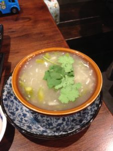 Crab soup, Co Thu Quan