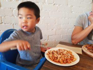 Bambini pasta, Allora Cucina