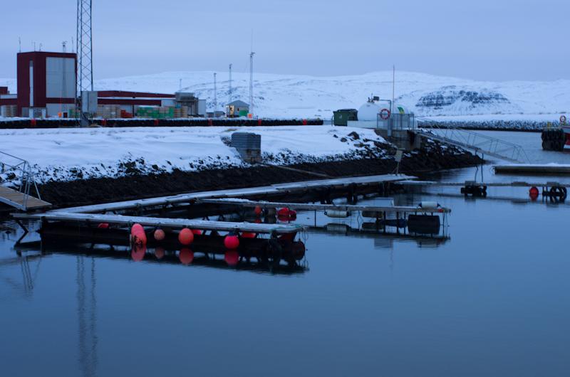 Part of the harbour at Patreksfjordur