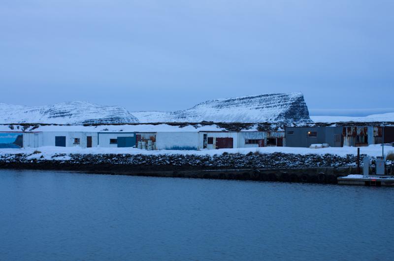 Fishing storage in Patreksfjordur