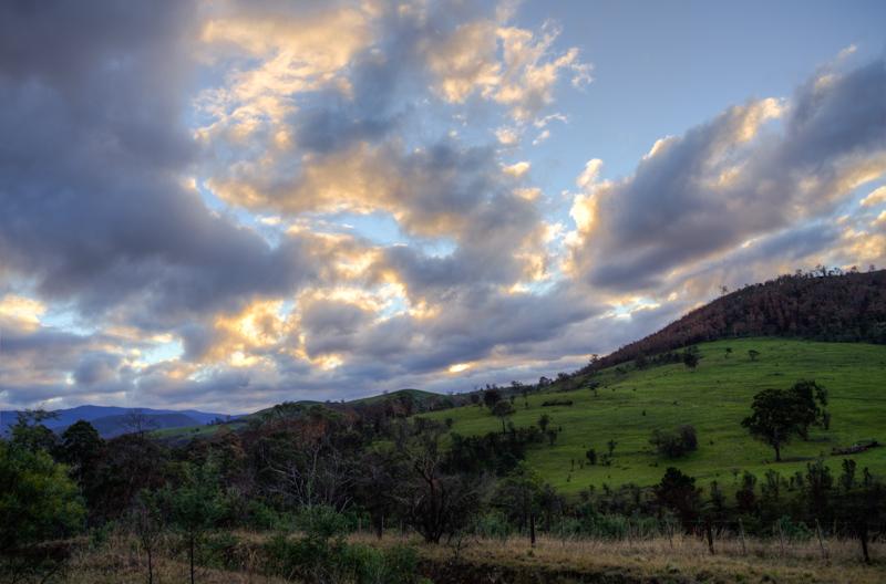 Hills near Westerway