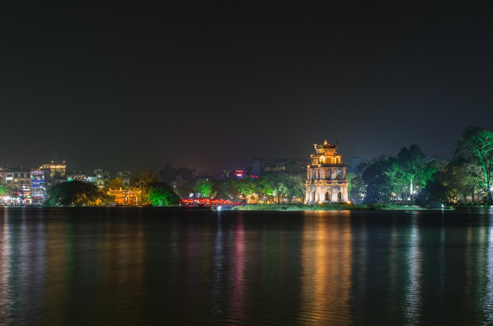 Turtle Temple, Hoan Kiem Lake
