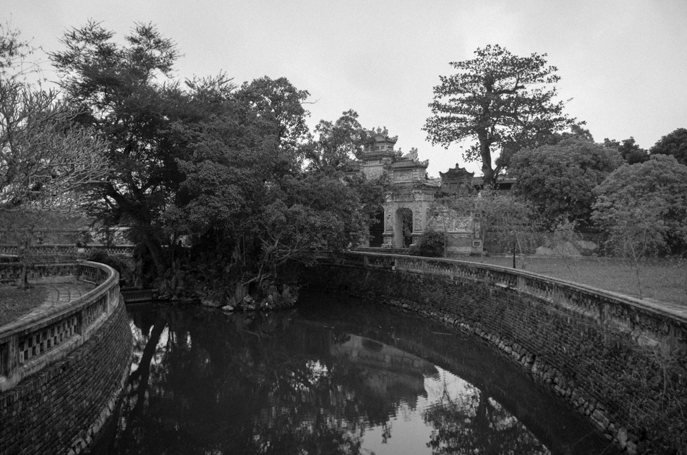 A gate at the Imperial Palace, Hue