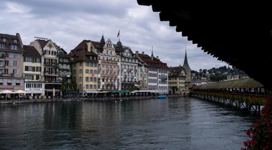 Lucerne foot bridge