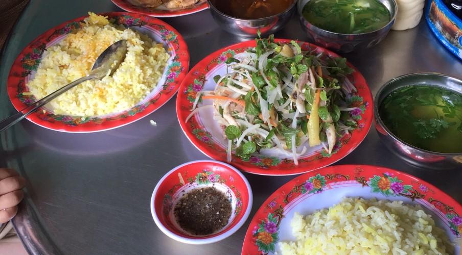 Hoianese chicken rice