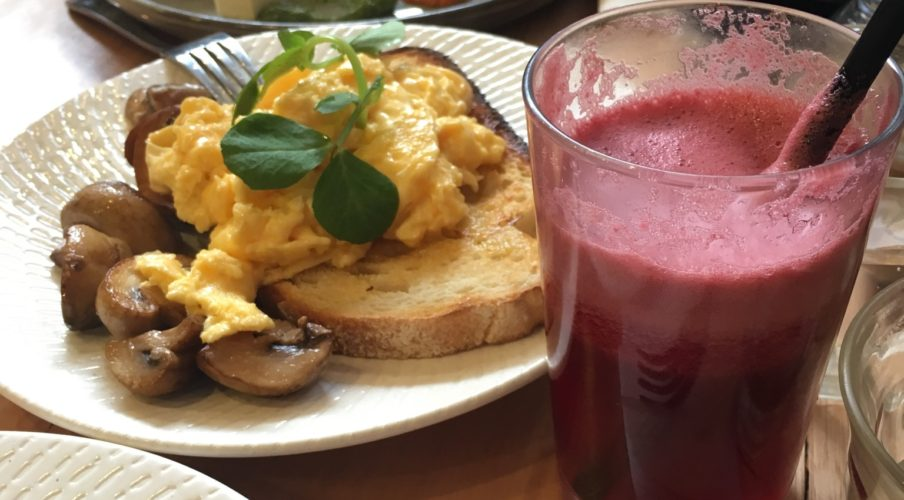Brunch: Fruit juice