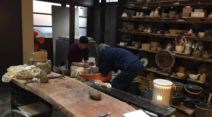 Pottery: Moulding the clay