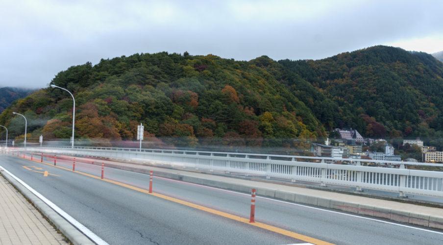 Ohashi Bridge in Kawaguchi-ko