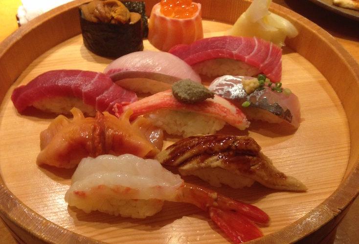 Tsukiji Tamasushi: Omakase sushi