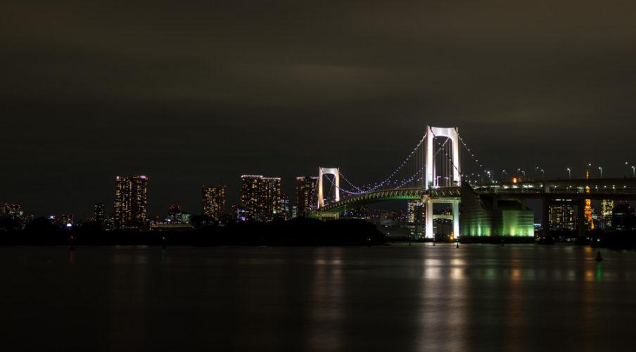 Rainbow Bridge, Odaiba Marine Park