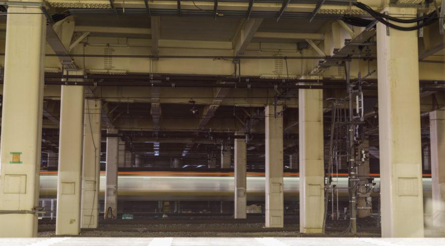 Last train ride to Narita